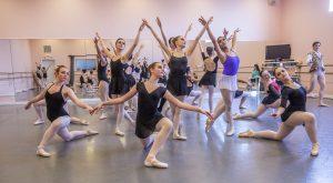 Sleeping Beauty Rehearsal, Lilac Naiads