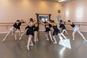 Nutcracker Rehearsal, Waltz of the Flowers