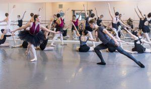 Sleeping Beauty Rehearsal, Lilac Fairy and Prince