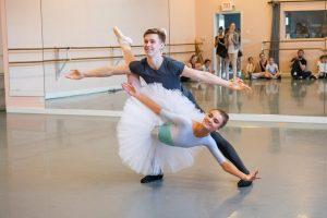 Sleeping Beauty Rehearsal, Aurora and Prince