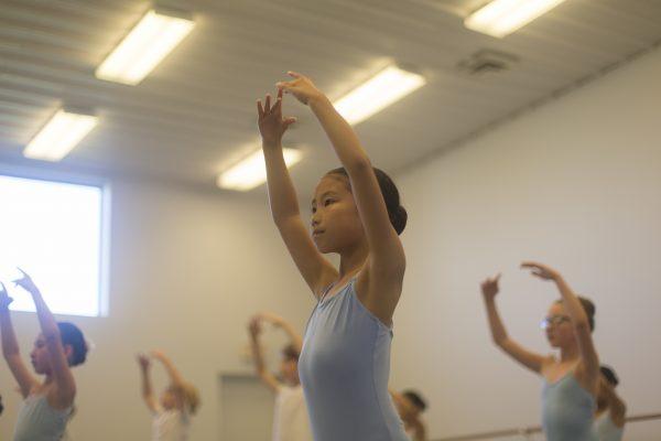Ballet 2 Dancers in Class