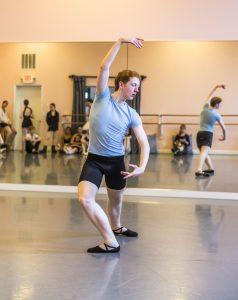 Swan Lake rehearsal, Prince Desire