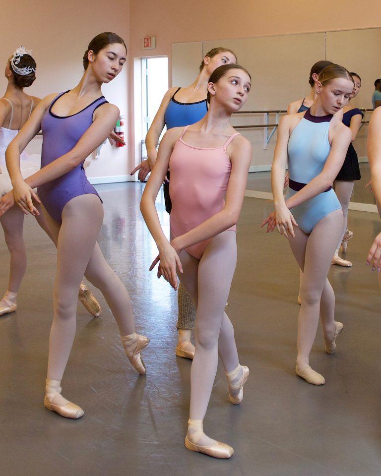 Pre-Professional Division Dancers